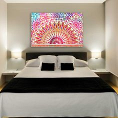 Oliver Gal 'Splitting Light' Canvas Art