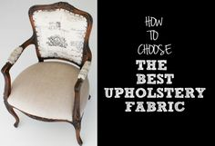 Finding the best #upholsteryfabric is not as scary as people think. Go through this blog to know about the types of fabrics with their features!