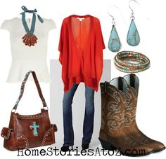 Really cute fall outfit
