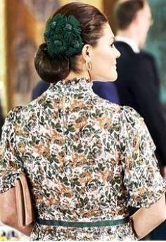 Sep 8, 2021 in Orjan Jakobsson | Royal Hats Princess Victoria Of Sweden, Crown Princess Victoria, Flower Headpiece, Ruffle Blouse, Hats, Women, Fashion, Moda, Hat