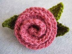 Flores de Crochet paso a paso