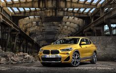 Bmw x2, luxury car, front