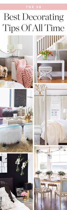 The 50 Best Decorating Tips of All Time #purewow #renovation #home #decor
