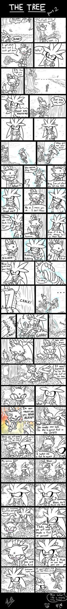 The Tree [Part 2] - (A Silver and Blaze Comic) by Fuutachimaru.deviantart.com on @deviantART