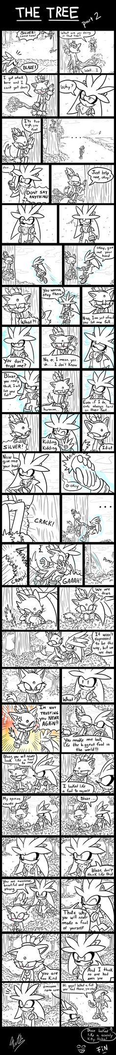 The Tree [Part 2] - (A Silver and Blaze Comic) by Fuutachimaru.deviantart.com on @deviantART