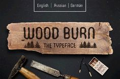 WOODBURN FONT - Free Font of The Week was our Free Premium Font Of The Week. Our Free Font Of The Week is available each week exclusively from Font Bundles. Grab your free fonts for a limited time only Hipster Fonts, Sans Serif Typeface, All Fonts, Fancy Fonts, Premium Fonts, Wood Burning, Spice Things Up, Cosmic, Free Design