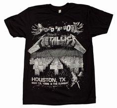 Metallica Damage on Tour T-Shirt