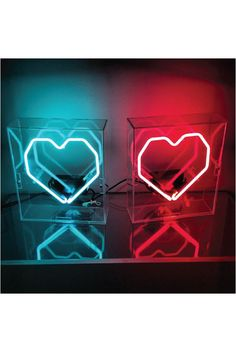 Geo Heart Neon Sign | Lovemade