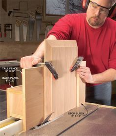 Woodworking Jigs | Woodworking Jigs http://americanwoodworker.com/blogs/tips/archive/2008 ... #woodworkingtips