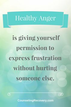 Healthy anger is an important relationship skill. When you know how to talk things out, intimacy improves and you feel empowered instead of resentful. Click here to read more.