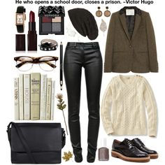 A fashion look from September 2013 featuring Aubin & Wills blazers, T By Alexander Wang jeans and Dries Van Noten oxfords. Browse and shop related looks.