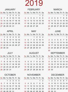 2019 Calendar Calendar 2019 Calendar Calendar 2019 Calendar Calendars 2019 Calendar Calendar Vector and PNG Free Printable Calendar Templates, Calendar 2019 Printable, Print Calendar, Monthly Planner, Planner Pages, Planners, Holiday Calendar, Image Notes, Diy And Crafts