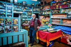 174 years old coffee and grocery shop In Kalarrytes village, Ioannina region, Epirus, Greece Greece Food, Coffee Places, Hidden Places, People Of The World, Greece Travel, Crete, Greek Islands, Napoleon, Athens