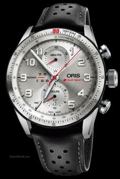 Oris - Audi Sport Limited Edition. Launched to celebrate the partnership between Oris and Audi Sport.