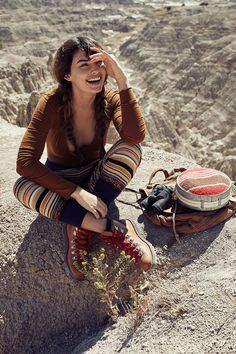 Free People X National Park Foundation Fall 2017 Alyssa Miller by Harper Smith