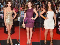 Selena Gomez, Lucy Hale, Nelly Furtado