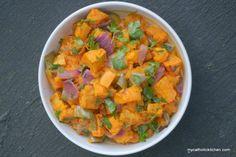 roasted potato salad #HealthyHappySmart #Vegetarian