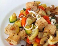 Sauté de tofu et légumes sans gluten