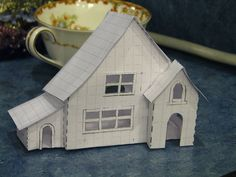 new Putz house patterns by christmasnotebook, via Flickr