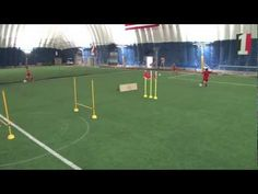 Football Drills for Kids U12 - Shooting and Agility | Top Soccer Coach
