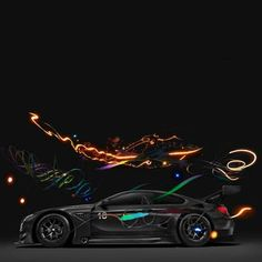The M6GT3 Art Car will be on show inShanghai