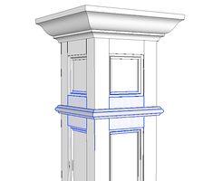 Wainscoting Beadboard Columns Mouldings Elite