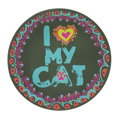 Tell the world how much your beautiful kitty means to you! Car magnet!