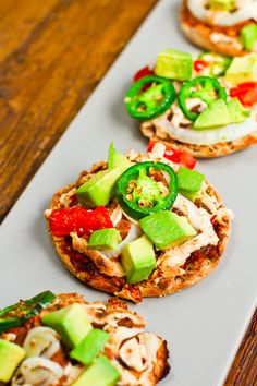 Mini Nacho Pizzas (Vegan)