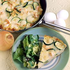 Zucchini and Rosemary Frittata With Parmesan + 25 Seasonal Brunch Recipes | health.com
