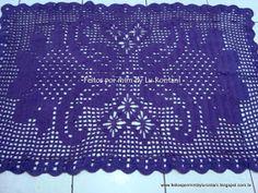 Um blog sobre crochê