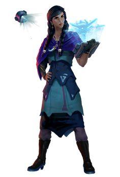 Kumara Melacruz, Human Envoy - Starfinder RPG (Dead Suns 1 Art)