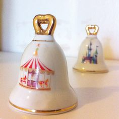 Mid century Disneyland salt and pepper shakers 1960's