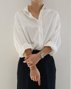 style, fashion, minimal, white shirt