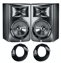 JBL Studio Monitors with Cables Bundle Studio Gear, In 2019, Recording Studio, Monitor, Audio, Top, Diving, Board, Places