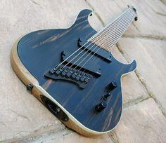 Blackmachine 8-string guitar