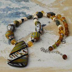 ala / Safari náhrdelník a náušnice