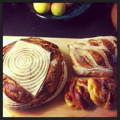 Alvar & Ivar Surdegsbageri | Teeny little bakery offering eco-friendly baked goods with local ingredients including sourdough. Baked Goods, Eco Friendly, Bakery, Bread, Food, Baking Supplies, Bakery Shops, Meals, Breads