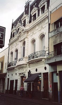 French architecture in Buenos Aires, Argentina by Bencito on flickr