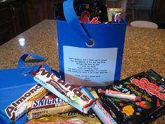 Creative Party Ideas by Cheryl: Teacher Candy Grams