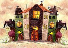 домики мозаика - Поиск в Google