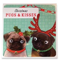 Pug Christmas cards Available at www.ilovepugs.co.uk post worldwide