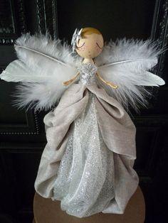 Christmas Tree Angel Angel Tree Topper by MilkTeabyBthanari: