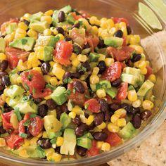 Mexican Fiesta Dip: minus cilantro, add franks drop the Tabasco