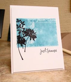 KD Because by naturecoastcrafter - Cards and Paper Crafts at Splitcoaststampers