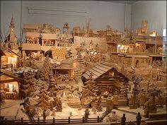 Terchovský drevený Betlehem