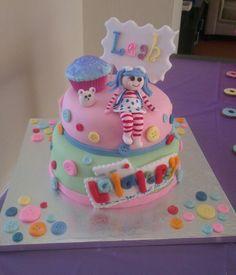 Leah's Lalaloopsy Cake