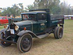 Vintage Ford Dump Truck