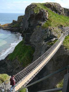 Carrick-a-Rede; Antrim, Northern Ireland