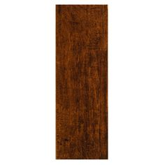 Style Selections�Colonial Wood Pecan Ceramic Floor Tile (Common: 6-in x 20-in; Actual: 5.91-in x 19.67-in)