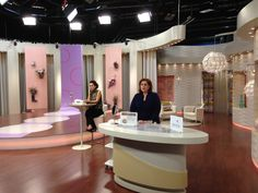 GENIE Beauty on the set at QVC Italy